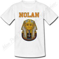 T-shirt Adulte Pharaon Avec Prénom Personnalisé - Egypte - Du S Au 2xl