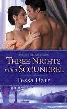 Three Nights with a Scoundrel by Tessa Dare  The Stud Club Trilogy Book 3