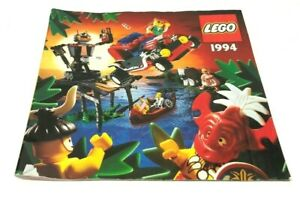 Vintage-1994-Lego-Promotional-Catalogue-Product-Range-Brochure-Booklet-Rare