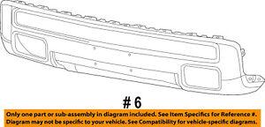 Ram-CHRYSLER-OEM-15-18-1500-Front-Bumper-Center-Cover-5SX96JSCAC