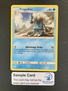 Unbroken BondsPokemon Card Frogadier 52//214 UncommonSun /& Moon