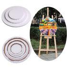 Round Canvas Panel Blank Cotton Acrylic Art Artist Oil Painting