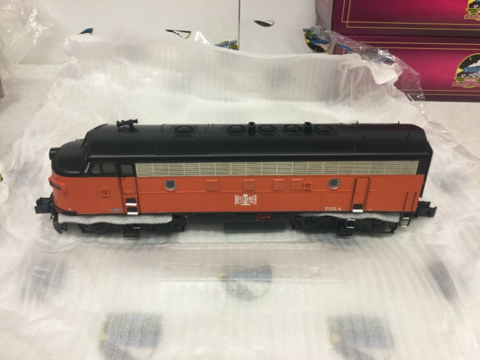 MTH Bessemer & Lake Erie Erie Erie F7A (Powered) Diesel Engine w PS 3.0 916b38