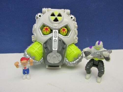 Details about  /complete vintage MIGHTY MAX NUKE RANGER HORROR HEADS PLAYSET bluebird 1992 #653