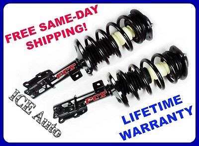 Rear Left /& Right Struts /& Coil Springs FCS Set for Subaru Forester 2003-2005