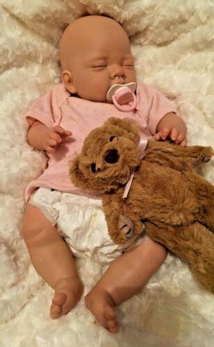 Riduzione neonato bambina amichevole reborn doll Carino Bambini con giocattolo morbido