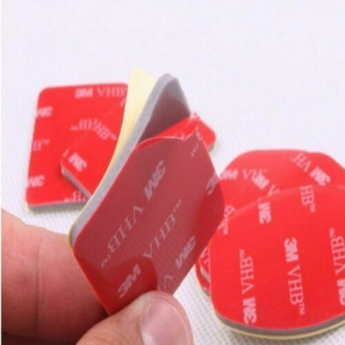 3M Adhesivo Almohadillas Pegatinas para Dji Osmo Acción 3 Plano 3 Curvo Base