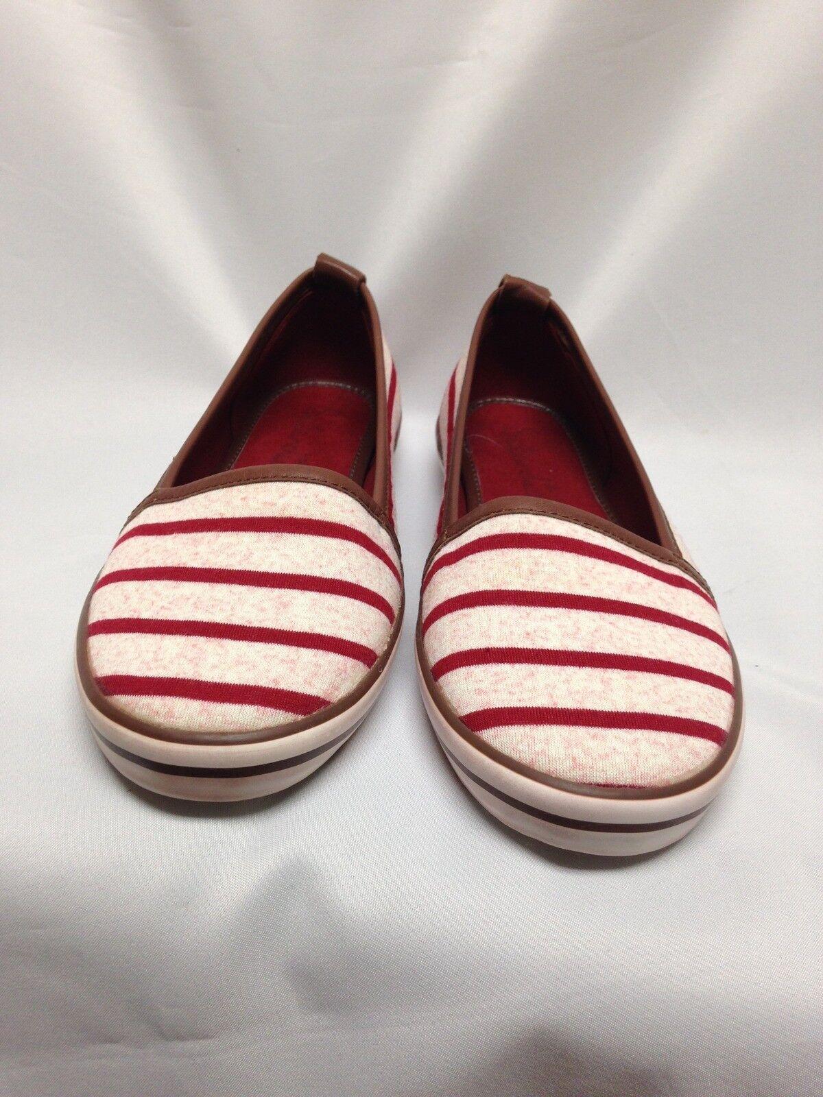 Splendid Striped Malibu Boat Shoe Dusty Rose  Size 8 2S02503 NIB