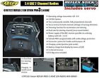 Carson C707122 Reflex Pro 3 Stick Radio Control RC 2 Channel 2.4ghz Set TX RX