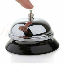 Captivating Hotel Service Steel Bell Call Ringer Ring Reception Restaurant Desk Kitchen