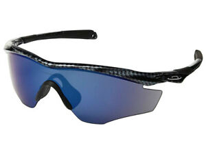 Oakley-M2-Frame-Sunglasses-OO9212-13-Carbon-Fiber-Ice-Iridium