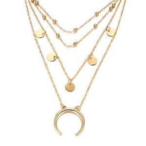 Fashion-Charm-Women-Jewelry-Choker-Chunky-Statement-Bib-Pendant-Necklace-Chain
