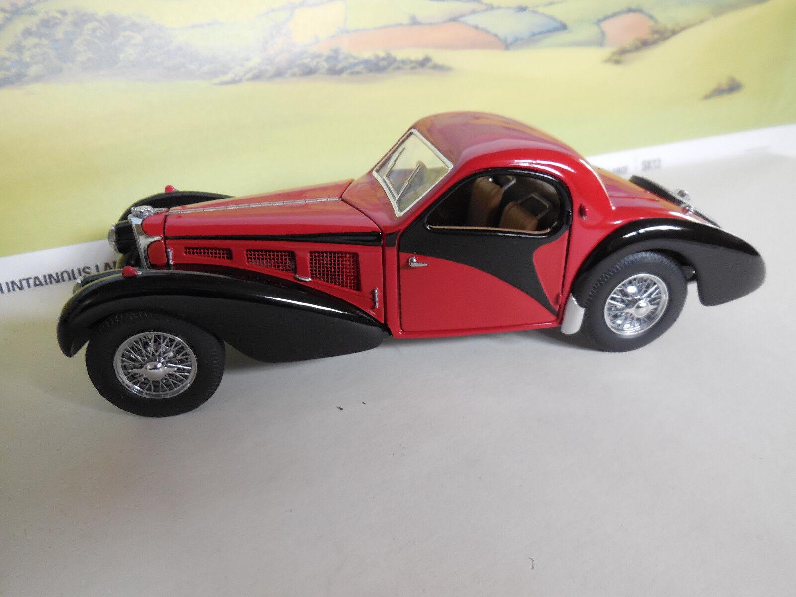 Franklin Mint 1 24th escala 1937 Bugatti 57SC