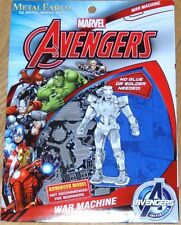 War Machine Marvel Avengers Metal Earth 3D Laser Cut Model Fascinations MMS323