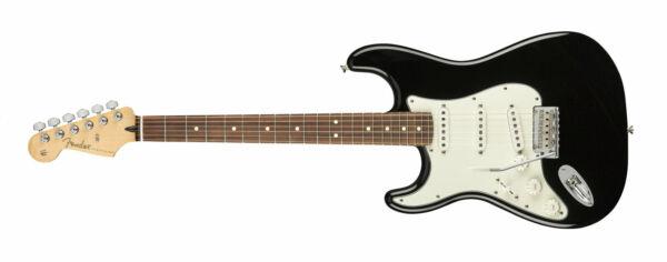 fender 144513506 player stratocaster left hand electric guitar black for sale online ebay. Black Bedroom Furniture Sets. Home Design Ideas