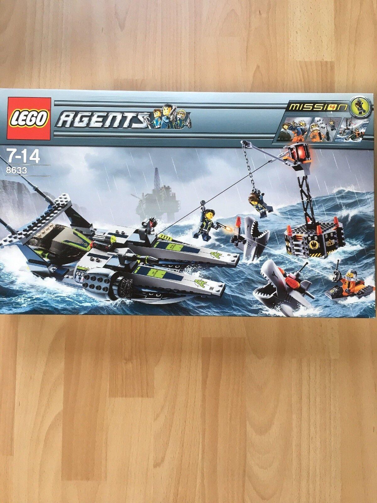 Lego 8633 Agents Mission mit OVP und Bauanleitung