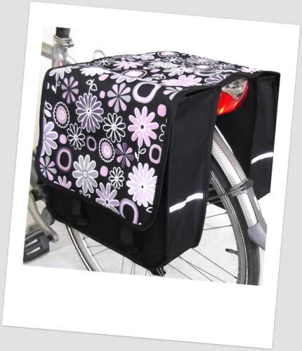 Fahrradtasche JENNY Satteltasche Gepäckträgertasche 2 x 14 L DUO Fahrrad Tasche