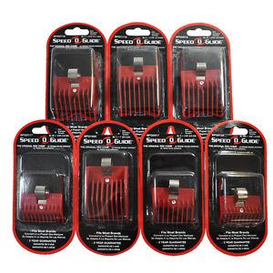 speed o guide clipper guard red universal comb attachment ebay