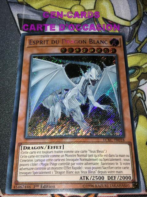 Esprit Du Dragon Blanc LCKC-FR018 1st Losse kaarten Yu-Gi-Oh kaartspellen