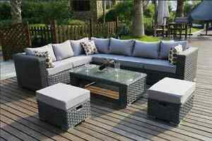 Image Is Loading Conservatory MODULAR 8 Seater Rattan Corner Sofa Set  Part 63