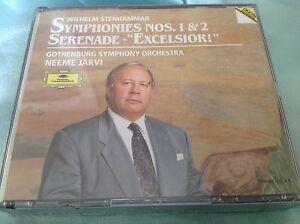Raro-Sellado-Juego-de-2-CD-NEEME-JARVI-Sinfonias-N-1-Y-2-Serenata