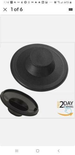 Garbage Disposal Kitchen Sink Drain Tight Solid Rubber Seal Stopper Brand New