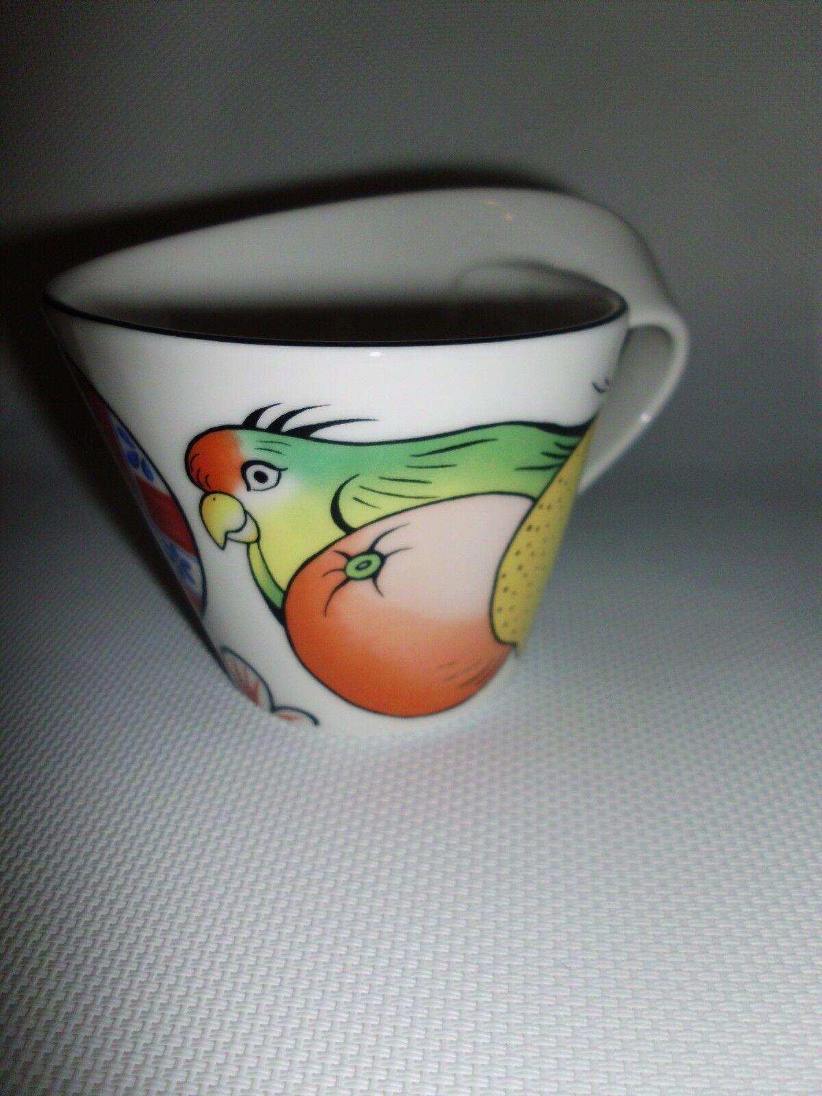 Villeroy & Boch   JUNGLE      2 Cappuccinotassen - Kaffeetassen  New Wave 12bbca