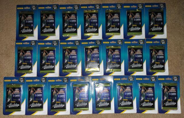 Panini Absolute Memorabilia 2020-21 NBA Basketball Cards - Lot of 22