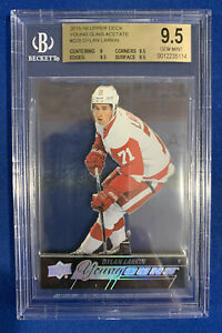 DYLAN-LARKIN-BGS-9-5-2015-16-UPPER-DECK-YOUNG-GUNS-ACETATE-ROOKIE-228-RARE
