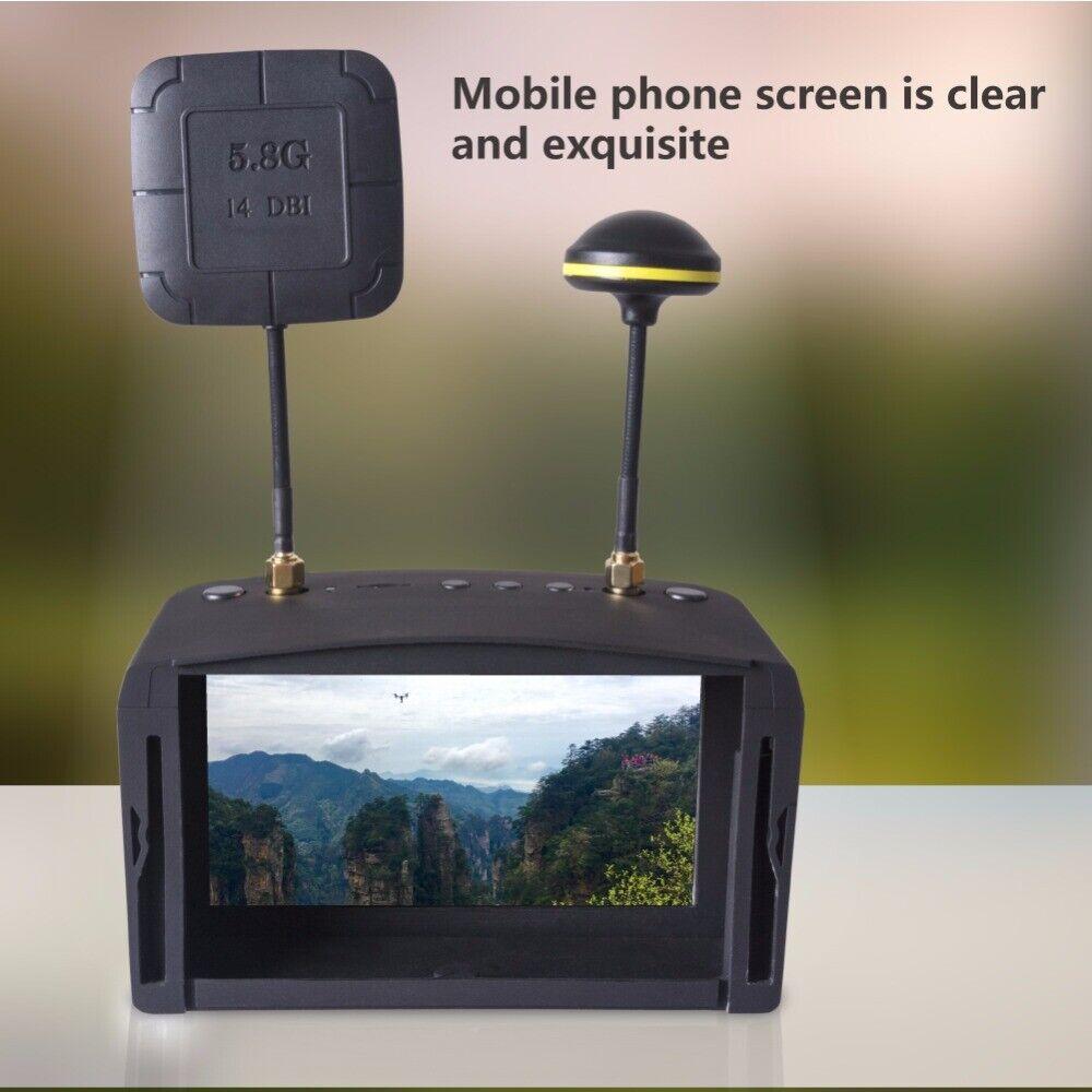 Gafas fpv de 5,80 d 5,8 G - 40ch de 800  480 audífonos de vídeo, aplicables a la RC