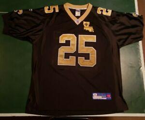 Reebok Reggie Bush signed Jersey New Orleans Saints # 25 Size 52 ...