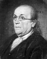 8x10 Photo: United States Founding Father Benjamin Franklin