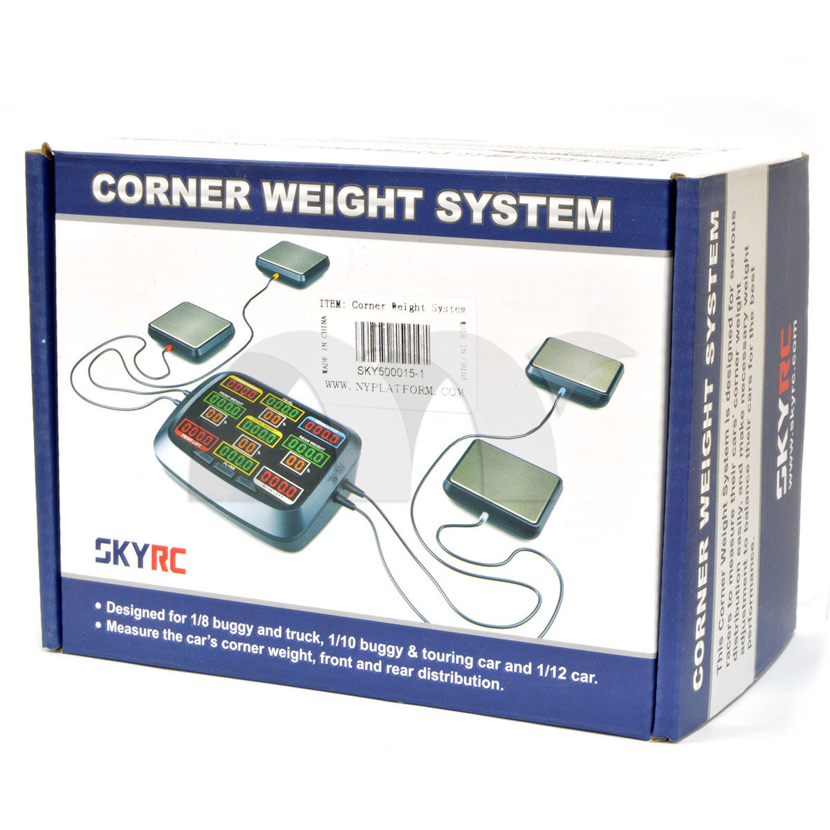 SkyRC Corner Weight RC Car Balancing Scale System Setup SK-500015 US transport