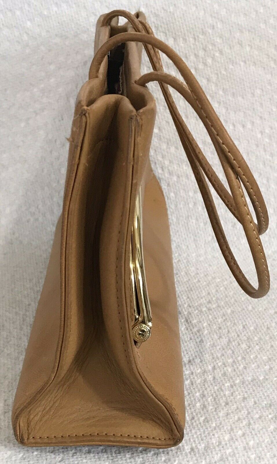 Vintage Coach Rare Leather Bonnie Cashin Stripe I… - image 7