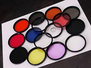 +Set of 15 55mm Assorted Creative FX Filters SLR DSLR Film Digital