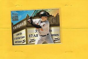 2000-CROWN-ROYALE-FEATURE-ATTRACTIONS-CAL-RIPKEN-JR