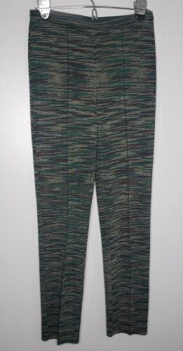 M Missoni Pants Pullon Stretch Stripes Sz 40