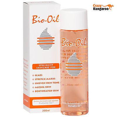 Neu Original Bio-Oil Spezial Hautpflege Oil 200ML - Gratis Lieferung