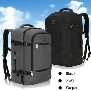 Cabin-Approved-Travel-Air-Backpack-Carry-on-Bag-Luggage-Convertible-Suitcase-40L