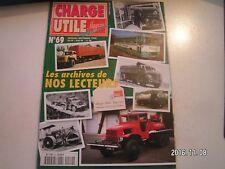 **d Charge Utile n°69 Génie à Madagascar / Chantier Savoyard / Pacific