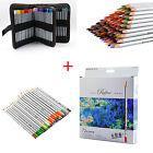 Art 36/48/72 Color Marco Drawing Sketch Oil Base Pencils/Case/Coloring Book SET
