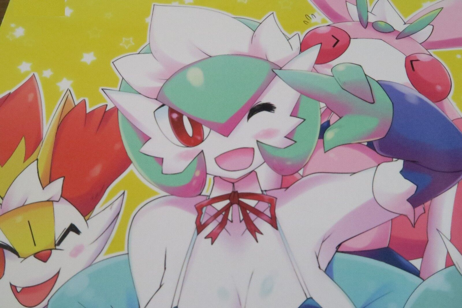 Pokemon Doujinshi Gardevoir (B5 28pages) Metallisch Stahl Ikanomaru Fuyu Furry