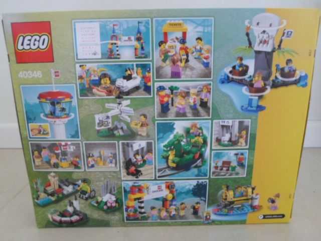 Lego Exclusives, Legoland æske exclusives 40346 kan kun…