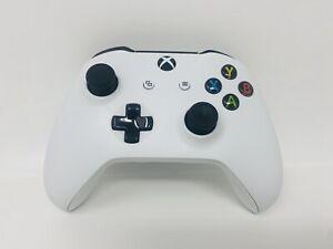 Microsoft Xbox One S X Wireless Bluetooth Controller Model 1708 White Read!!!