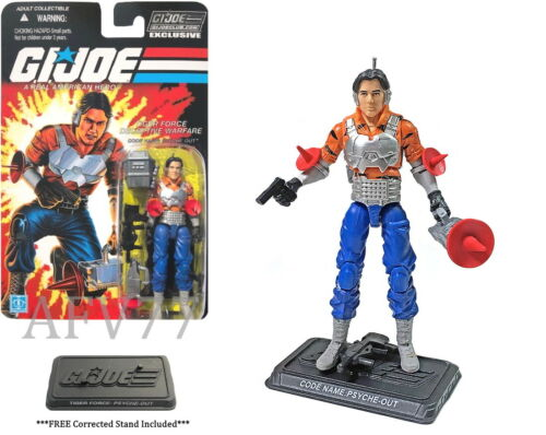 G JOE Collectors Club 2019 The FINAL 12 Tiger Force PSYCHE-OUT I