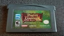 Pirates of the carribbean Gameboy Advance USA