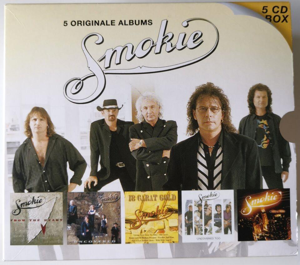SMOKIE: 5 Originale Albums Box-Set, pop
