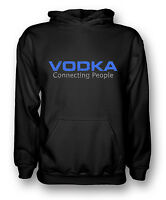 Vodka Connecting People - Mens Hoodie