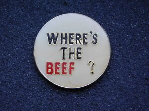 VINTAGE-METAL-PIN-WHERE-039-S-THE-BEEF