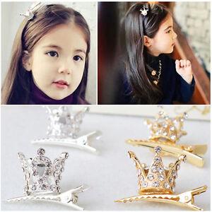 Cute-Children-Girl-Hair-Clips-Rhinestone-Crystal-Crown-Hairpin-Princess-Barrette